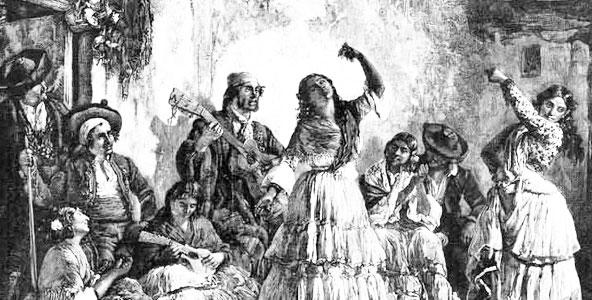 History of Flamenco - Historic Image