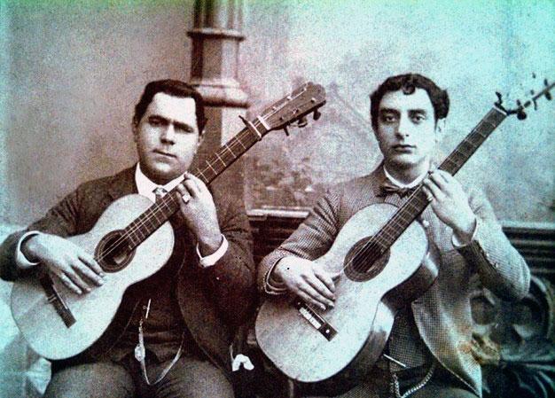 Juan Breva with Paco de Lucena - About Flamenco